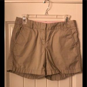 J. Crew Chino Shorts-Size 2